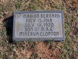 Marion Bernard Clopton