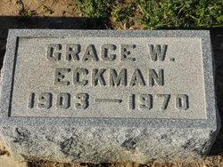 Grace W. <i>Zepp</i> Eckman