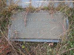 James B. Bowden