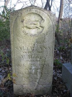 Sarah Ann Sallie <i>York</i> Henry