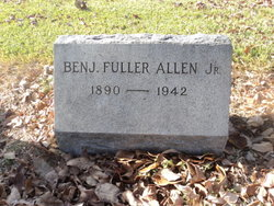 Benjamin Fuller Allen, Jr