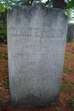 Maria D. <i>Blanchard</i> Knight