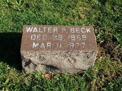 Walter P Beck