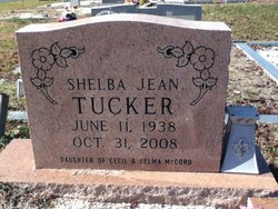 Shelba Jean <i>McCord</i> Tucker