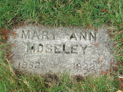 Mary Ann <i>Ray</i> Moseley