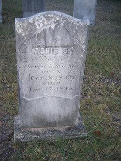 Abbie <i>Danforth</i> Brackett