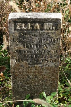 Ella M Mefford