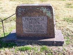Frankie M Brock