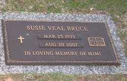 Susie <i>Veal</i> Bruce
