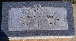 Audrey V <i>Atkinson</i> Amos