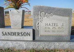 Hazel J. <i>Thompson</i> Sanderson