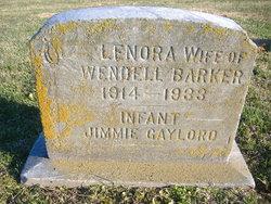 Lenora <i>Wilkin</i> Barker