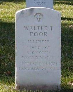 Walter T Poor