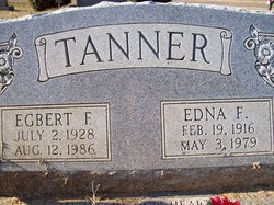 Edna Frances <i>Sisk</i> Tanner