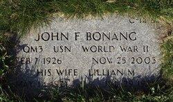 John F Bonang