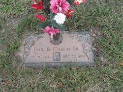 Paul R. Chafin, Sr.