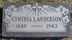 Cynthia Isabel <i>Lawrence</i> Anderson