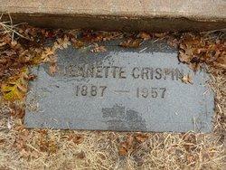 Jeanette A. <i>Grant</i> Crispin