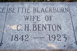 Bettie <i>Blackburn</i> Benton
