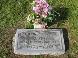 Catherine K <i>Barnett</i> MacLean