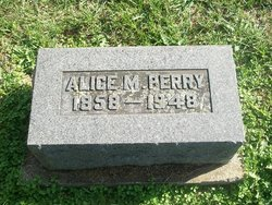 Alice M. <i>Garriott</i> Perry