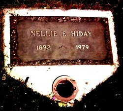 Nellie Elizabeth <i>Cropper</i> Hiday