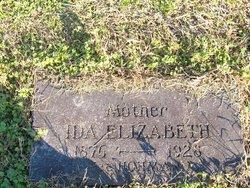 Ida Elizabeth <i>Hohman</i> Atkinson