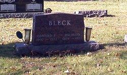 Mildred Adeline <i>Shue</i> Bleck