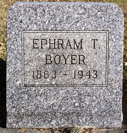 Ephram Thomas Boyer