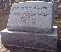 Annie <i>Stackhouse</i> Montgomery