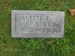 Janette E <i>Peabody</i> Norton