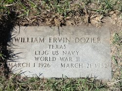 Lieut William Ervin Dozier