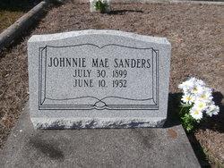 Johnnie Mae <i>Sanders</i> Belk
