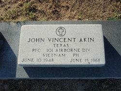 PFC John Vincent Akin