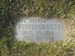 Mona Ursula <i>Handy</i> Westinghouse