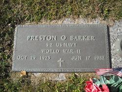 Preston Ordean Barker, Sr