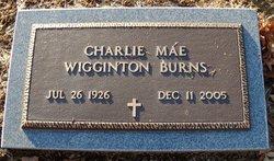 Charlie Mae <i>Wigginton</i> Burns