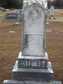 Sarah Ann <i>Herring</i> Autry