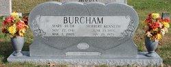 Mary Ruth <i>Maness</i> Burcham