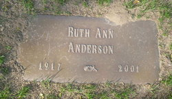 Ruth Ann <i>Fiedler</i> Anderson