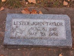 Lester John Taylor