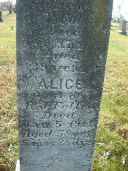 Alice <i>McDaniel</i> Follin
