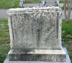 Harriet Maria Allen