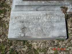 Mary <i>McCulley</i> Dasher