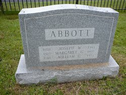 Margaret J <i>Graham</i> Abbott