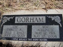 Adeline F Gorham