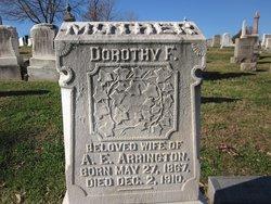 Dorothy F. Arrington