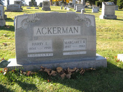 Margaret Rebecca <i>Harkness</i> Ackerman