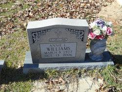 Annie L Williams