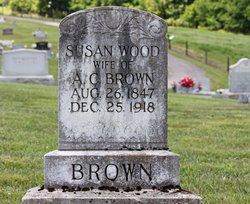 Susan <i>Wood</i> Brown